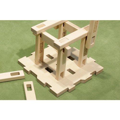 Spinifex Cluster constructiespeelgoed Spinifex grondplaat puzzelplaten
