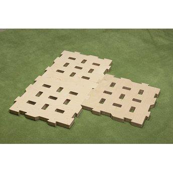 Spinifex Cluster constructiespeelgoed Spinifex grondplaat puzzel