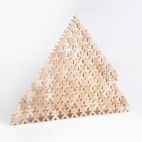 Flockmen houten poppetjes 100 stuks
