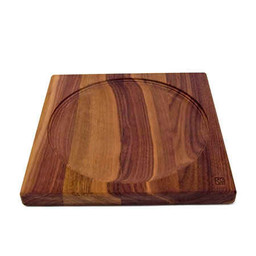 Mader houten tollen Mader Tolbord van massief donker hout