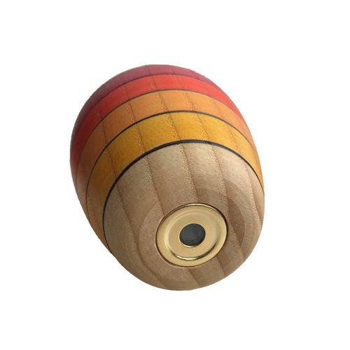 Mader houten tollen Houten Caleidoscoop in prachtige kleuren