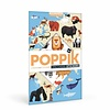 Poppik stickerkunst Poppik Stickerposter dieren