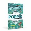 Poppik stickerkunst Poppik Stickerposter Oceanen