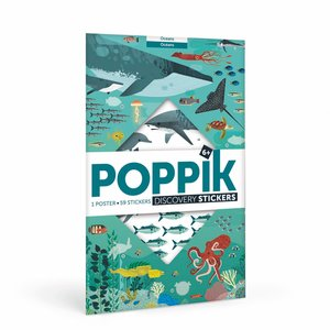 Poppik stickerkunst Poppik Stickerposter Oceanen