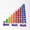 Grimms houten speelgoed Grimms kleurrijke kralentrap