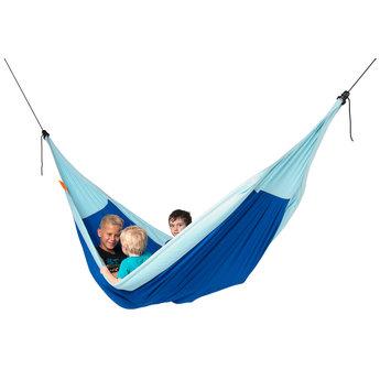 La Siesta hangmatten Moki Dolphy Max Kinderhangmat groot - blauw