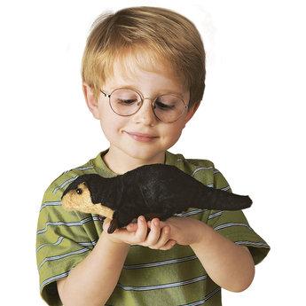 Folkmanis handpoppen en poppenkastpoppen Vingerpop rivierotter