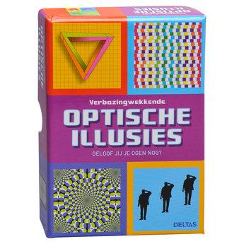 Uitgeverij Deltas Verbazingwekkende Optische Illusies - Geloof jij je ogen nog?