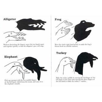 Divers Handshaduwen - schaduwfiguren maken met je handen