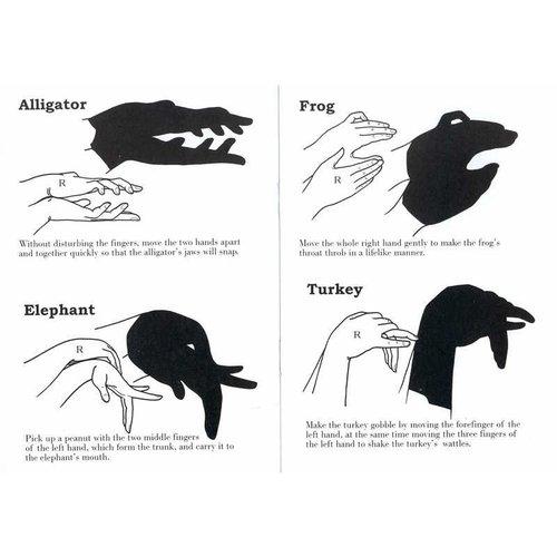 Handschaduwen - schaduwfiguren maken met je handen