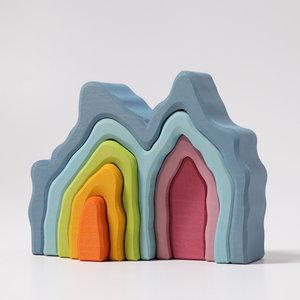 Grimms houten speelgoed Grimms bogen blauwe grot