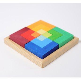 Grimms houten speelgoed Grimms Legspel Square