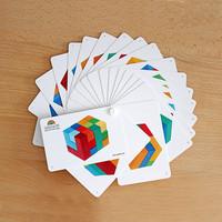 Spelvoorbeelden blokkenpuzzel vierkant