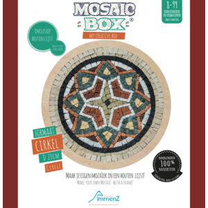 Mosaikit Mosaicbox - mozaiek Mandala 3