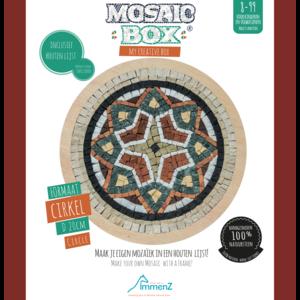 Neptune Mosaic Mosaikit en Mosaicbox Mosaicbox - mozaiek Mandala 3