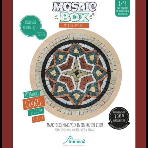 Neptune Mosaic Mosaicbox - mozaiek Mandala 3