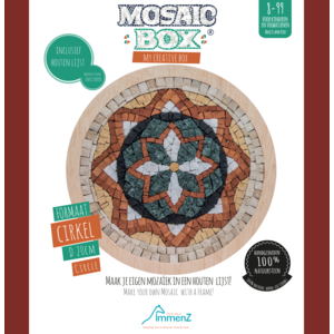 Mosaikit Mosaicbox - mozaiek Mandala 8