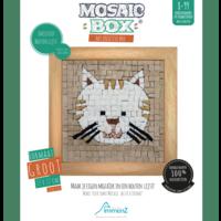 Mosaicbox - Mozaiek met lijst Kat