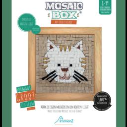 Mosaikit Mosaicbox - Mozaiek met lijst Kat