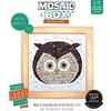Mosaikit Mosaicbox - Mozaiek met lijst Uil