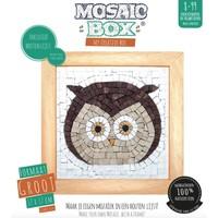 Mosaicbox - Mozaiek met lijst Uil