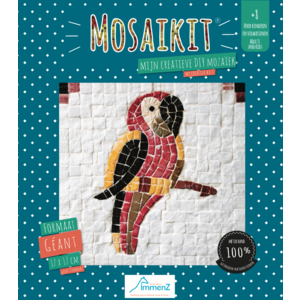 Neptune Mosaic Mosaikit en Mosaicbox Mosaikit - Mozaiek Papegaai