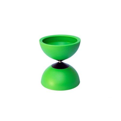 Circus Jojo jongleerspeelgoed Diabolo Spinner groen gemaakt in België