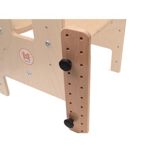 RobHoc flexibele schoolmeubels ROD-2x10-SET verbindingsstuk voor kruk