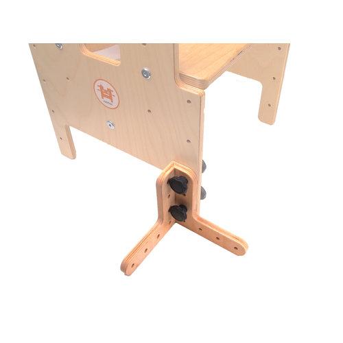 RobHoc flexibele schoolmeubels ROD-LL-SET verbindingsstuk voor kruk