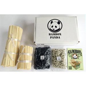 BAMBOX bamboe bouwen Bambox Panda constructie stokjes