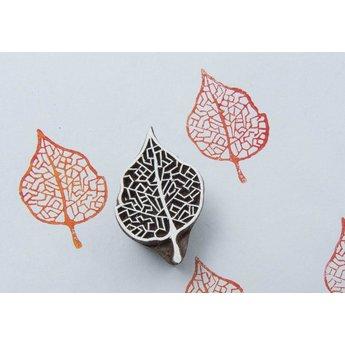 Blockwallah houten stempels Blokstempel Delicate Leaf - delicaat blad