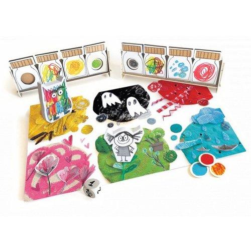 Asmodee Het Kleurenmonster - het bordspel