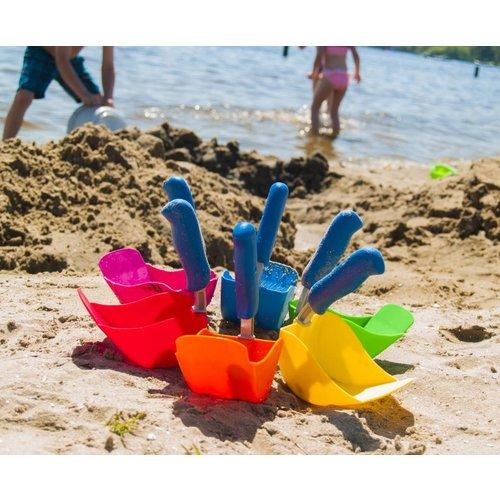 Lepale Lepale kleurrijke en ergonomische kinderschep blauw