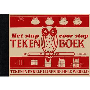 Lannoo kinderboeken Lannoo Het Stap voor Stap tekenboek