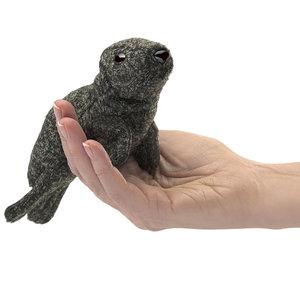 Folkmanis handpoppen en poppenkastpoppen Folkmanis vingerpop Zeehond