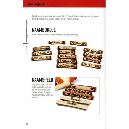 Veltman Uitgevers kinderboeken Houtsnijwerk - knutselen met hout en mes