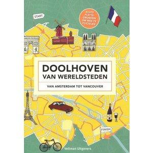 Veltman Uitgevers kinderboeken Doolhoven van Wereldsteden