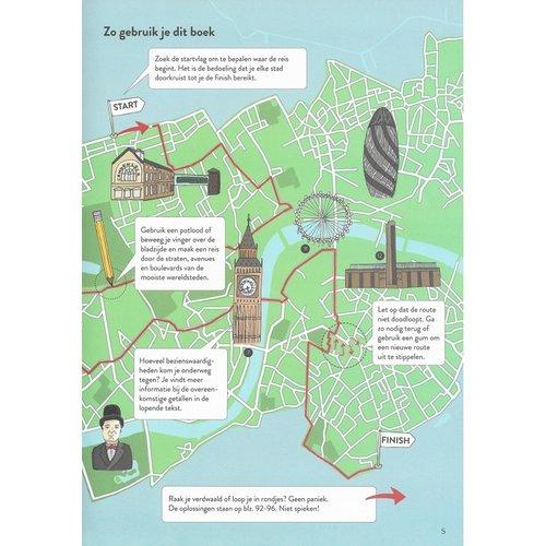 Veltman Uitgevers kinderboeken Doolhoven van de wereld