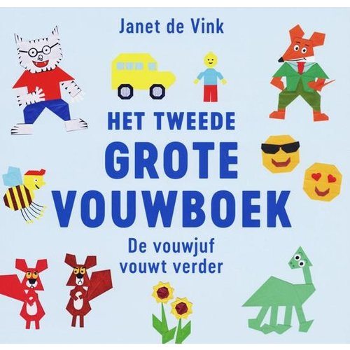 Kosmos Uitgevers kinderboeken Het tweede grote vouwboek Janet de Vink