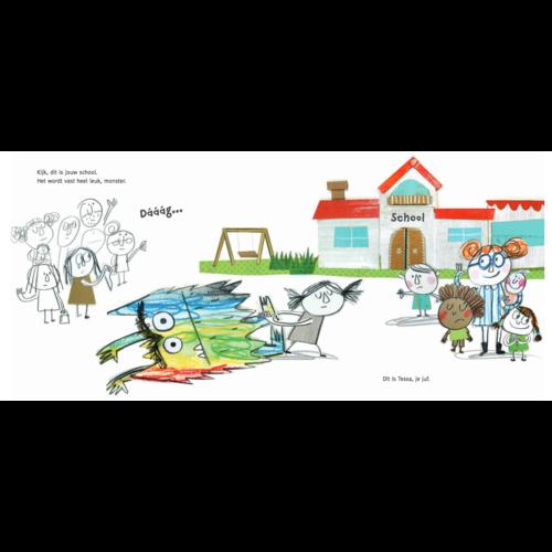 De Vier Windstreken kinderboeken Het kleurenmonster gaat naar school - voor kleuters