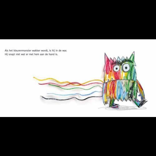 De Vier Windstreken kinderboeken Kartonboek Het kleurenmonster