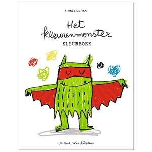 De Vier Windstreken kinderboeken Het kleurenmonster kleurboek