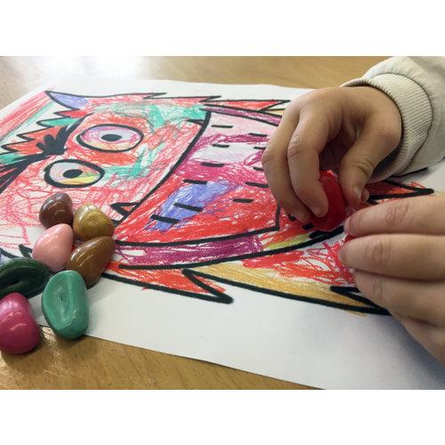 De Vier Windstreken kinderboeken Kleurboek Het kleurenmonster