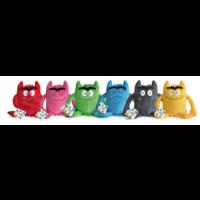 Pluche Kleurenmonsters - set van 6