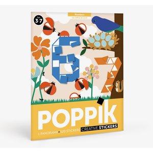 Poppik stickerkunst Poppik Sticker puzzel Nummers