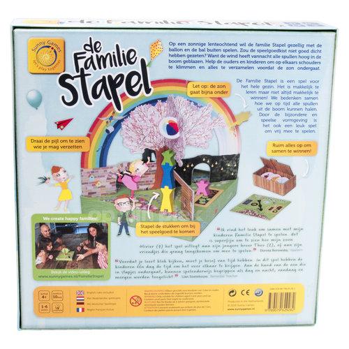 Sunny games - Zonnespel - coöperatieve spellen Familie Stapel, een coöperatief spel