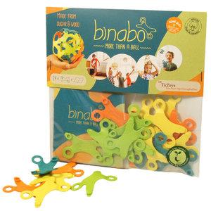 TicToys ecologisch beweegspeelgoed TicToys Binabo 24 mix constructiestukjes