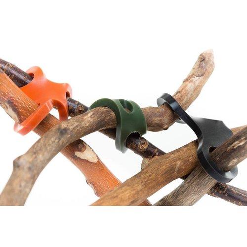 Stick-lets constructiemateriaal voor binnen en buiten Stick-lets Camouflage schoolset set 40 stuks