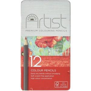 Fantasia Artist Artist kleurpotloden  12 stuks