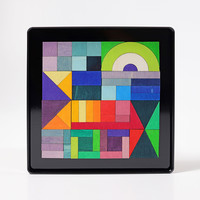 Grimms Mini magneetpuzzel Geo graphical